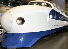 """Japanese """"Bullet"""" train."""