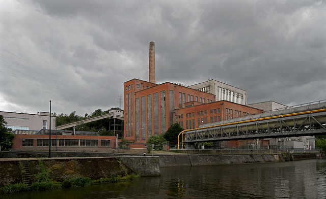 Centrale de Monceau power station
