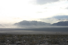 Dust storm in Eureka Valley
