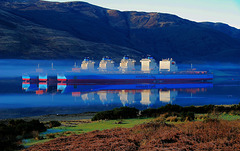 Maersk ships laid up, Loch Striven