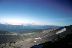 Mt. St. Helens from the flank of Mt. Adams
