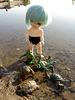 Ninja turtle training - a swimming lesson