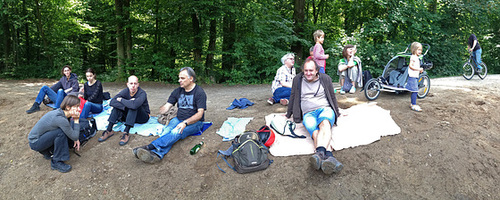Picknick am Jacobi Weiher