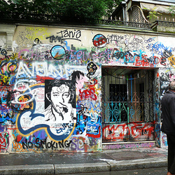 """ Paris canaille "" : Gainsbourg's home"