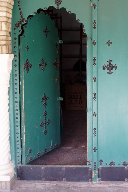 Dans la médina, Tozeur (Tunisie)