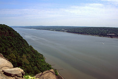 Hudson River from Tallman Mountain State Park, New York