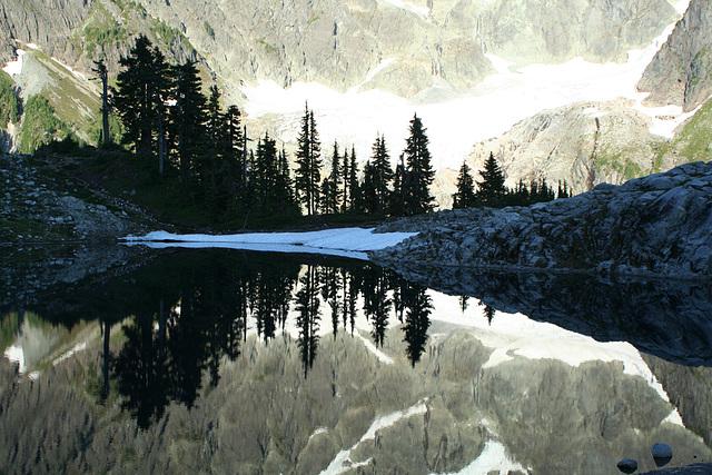 Lake Ann Reflections