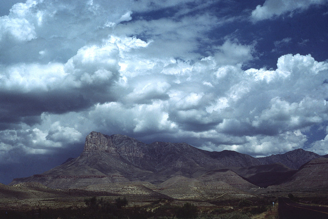 Guadalupe Peak, Guadalupe Mountains National Park, Texas