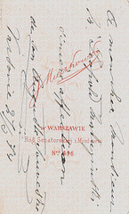 Augusto Souvestre's autograph at the back (1)