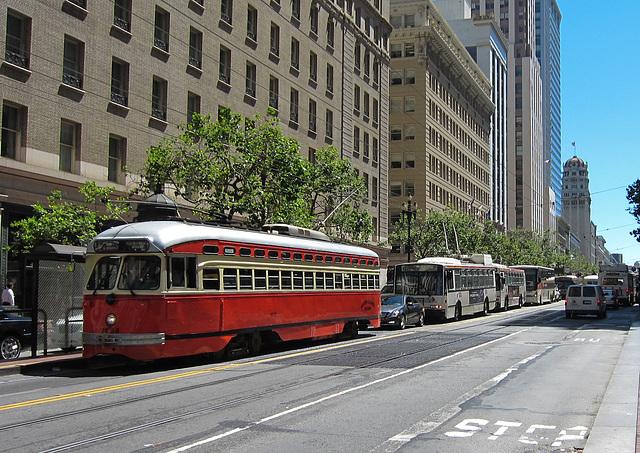 SF downtown: Public Transit (3016)