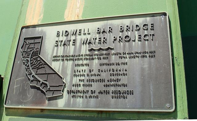 Oroville Bidwell Bar Suspension Bridge (0128)
