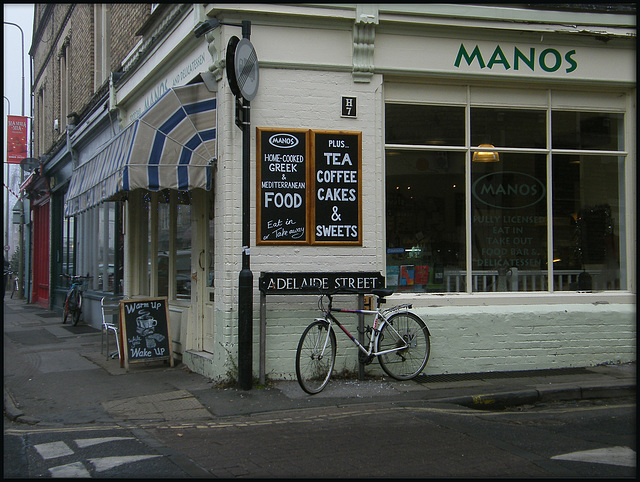 Manos food bar