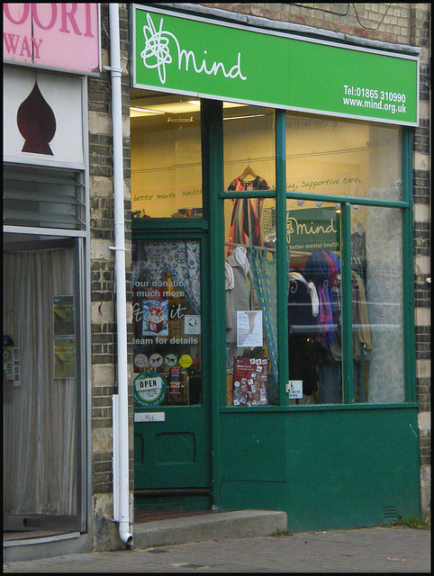Mind charity shop