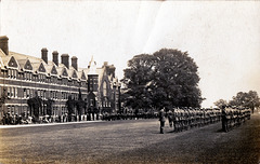 Cadets, Felsted School, Essex c1914