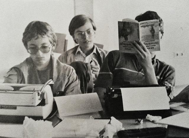 Schülerzeitungsredaktion, Projekttage 1984