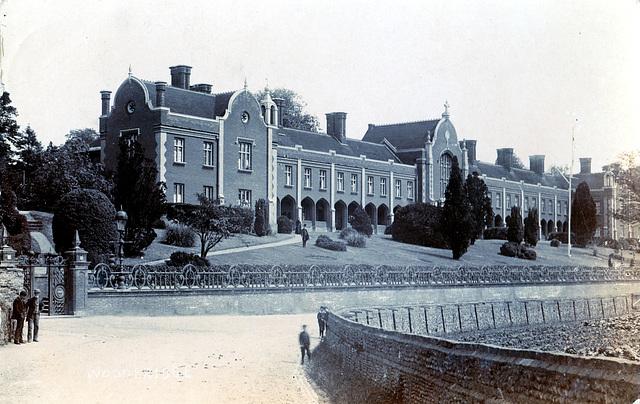 Seckford Hospital, Woodbridge, Suffolk c1905
