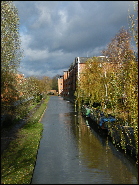 north up the Oxford Canal