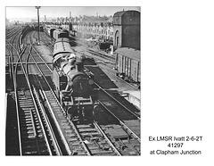 LMSR Ivatt 2-6-2T 41297 Clapham Junction