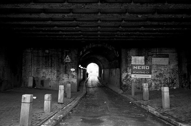 Railway tunnel, Battersea. Nov 2010.