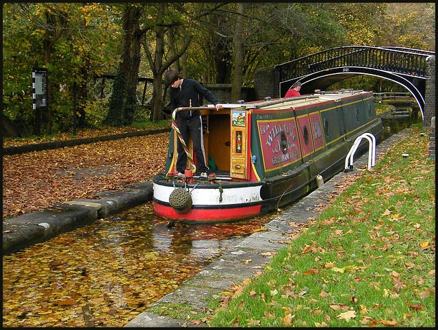 autumn in the lock