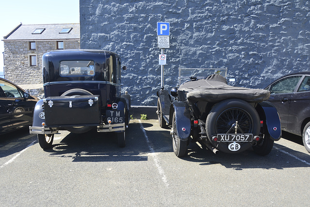 Isle of Man 2013 – 1929 Ford A & 1924 Bentley 3 Litre