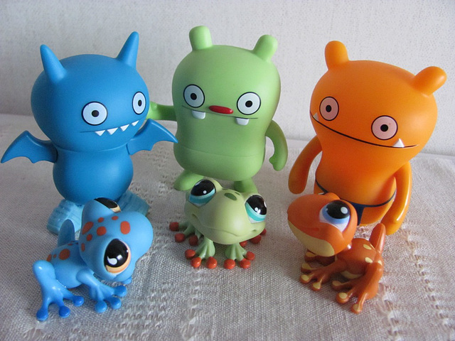 Ugly frogs