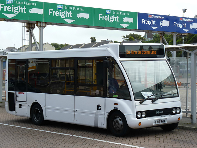Buses at Holyhead (1) - 1 July 2013