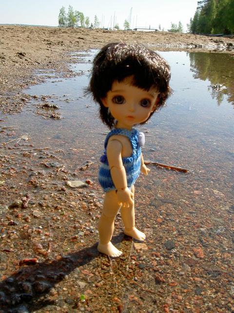 Algol on the beach
