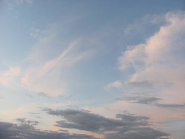Midsummer night clouds