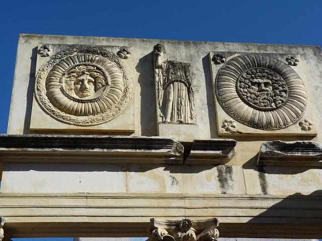 Portada romana en Mérida