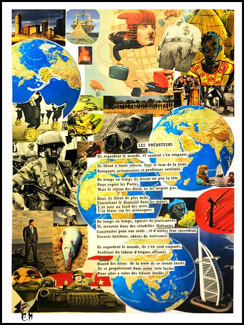 Les Prédateurs (poème-collage)