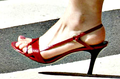 ann taylor heels on the streets