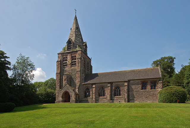 St Chad's Church, Longsdon, Staffordshire