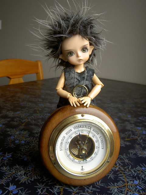 Deimos and the barometer