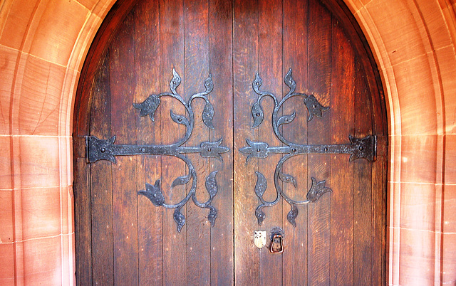 St Chad's Church, Longsdon, Staffordshire