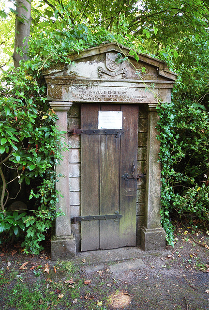 Longsdon Churchyard, Staffordshire