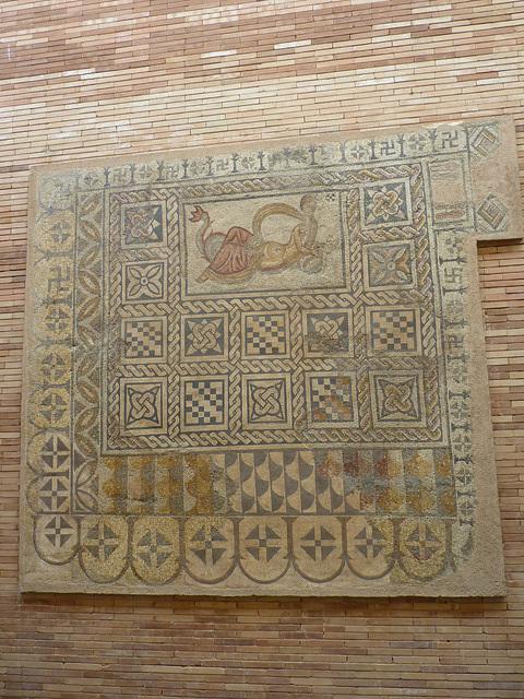 Mosaico en el Museo de Mérida