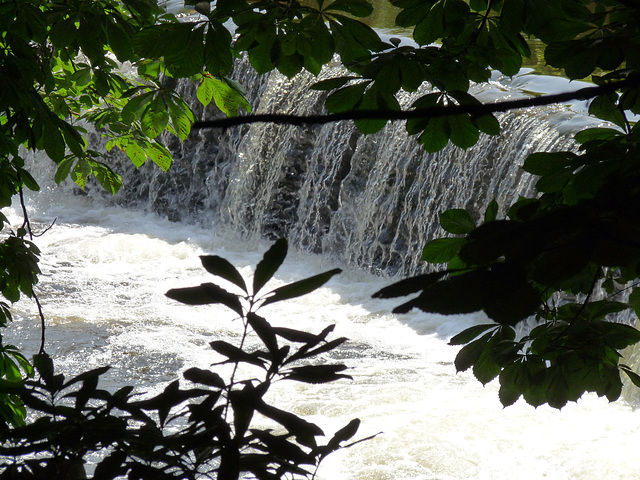 A Weir on the River Goyt