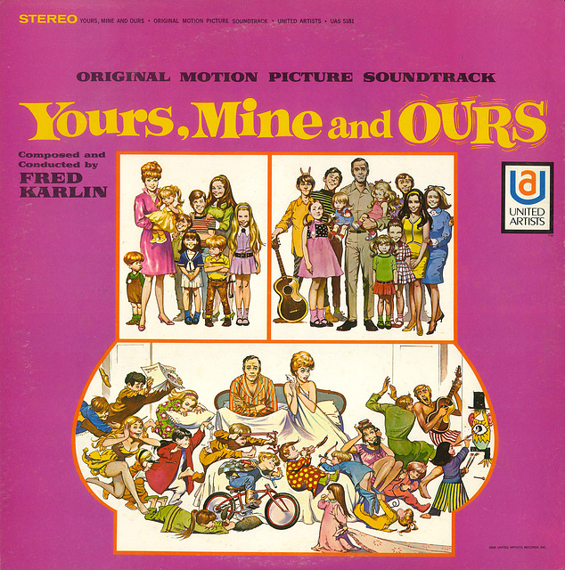 Yours, Mine and Ours soundtrack album