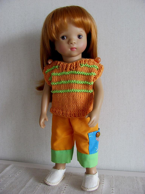 Orange top for Stella