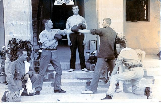 British Army Boxers, North Africa