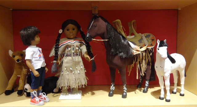 I do like your horses, are you a Native American Indian Girl?