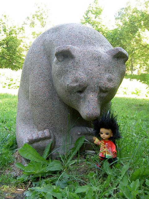 Thuban and the bear