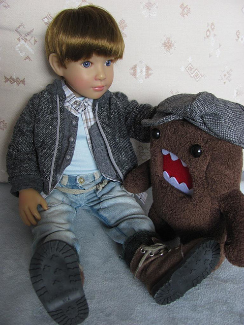 Alister and Domo