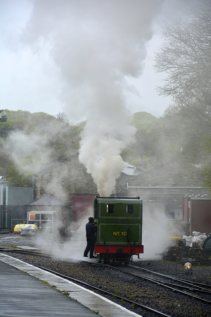 Isle of Man 2013 – Engine № 10 G.H. Wood steaming