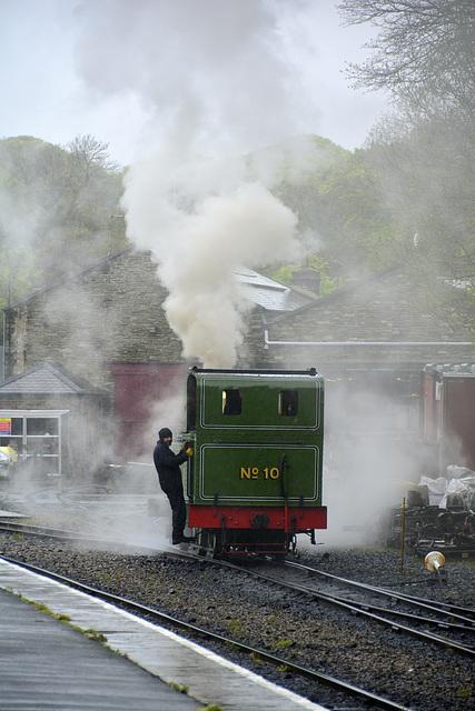 Isle of Man 2013 – Engine № 10 G.H. Wood steaming