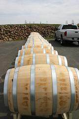 Wine casks, Washington state