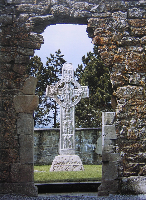 High Cross, Clonmacnoise, Co. Offaly