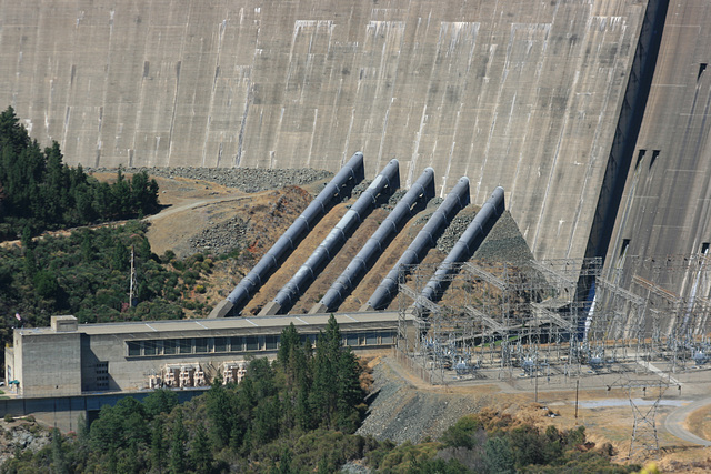 Shasta Dam, California, USA.