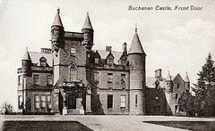 Buchanan Castle, Stirlingshire (now a ruin)